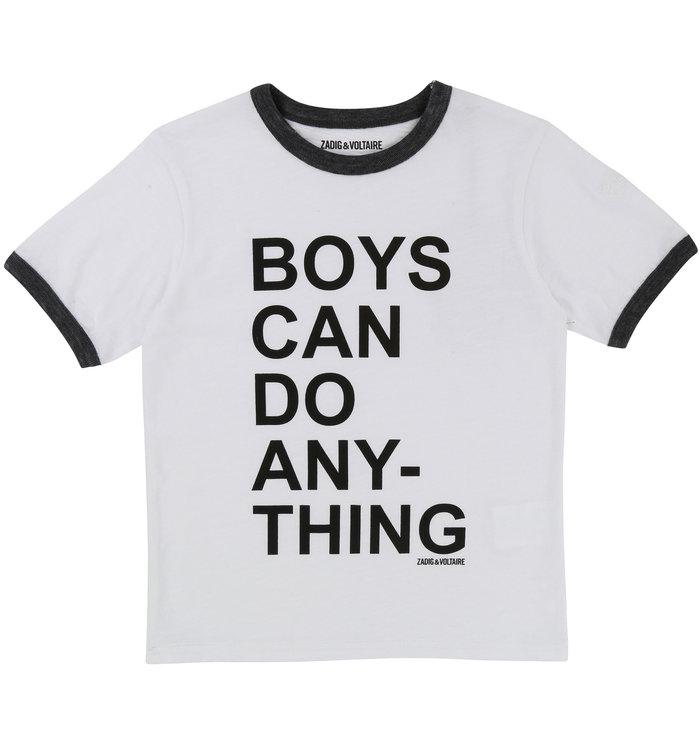 Zadig & Voltaire T-Shirt Fille Zadig & Voltaire
