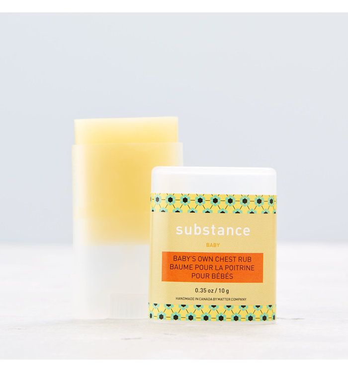 Substance SUBSTANCE BABY'S OWN CHEST RUB