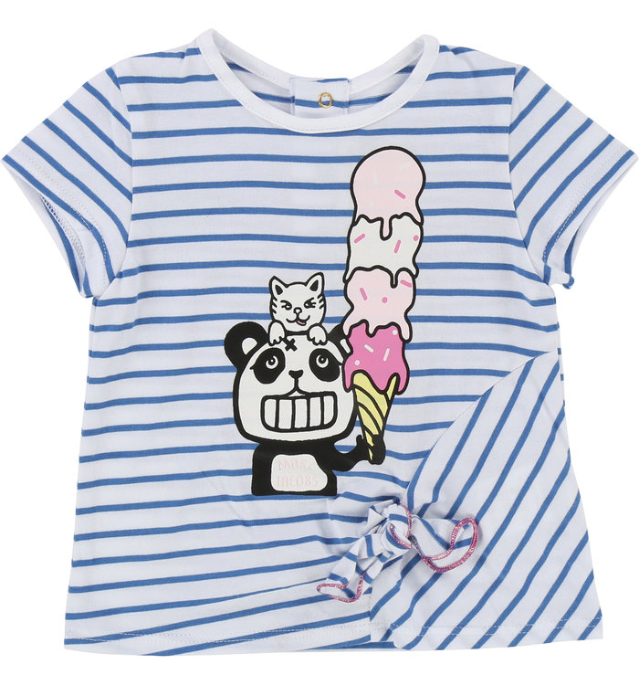 T-Shirt Fille Little Marc Jacobs