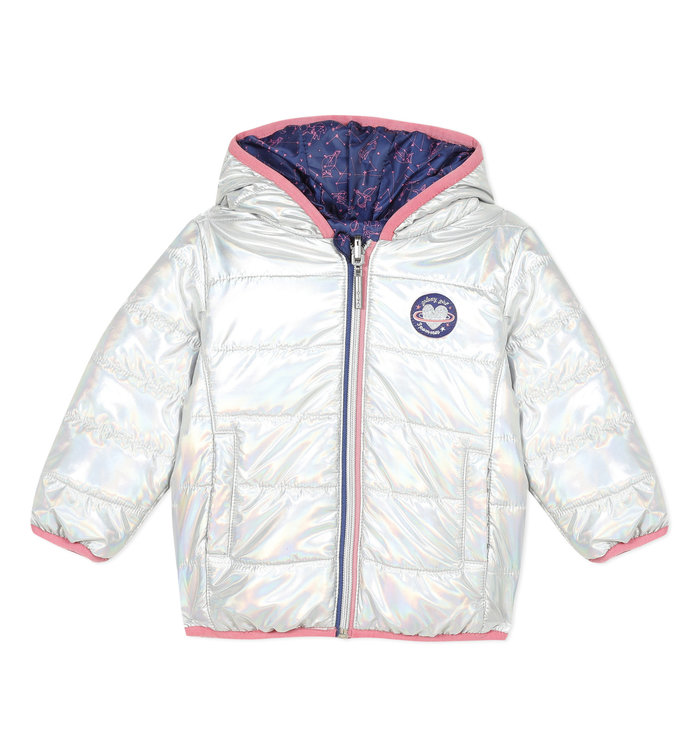 3 pommes 3 Pommes Girl's Reversible Coat