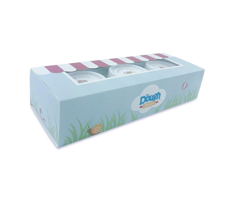 DOUGH PARLOUR PACK OF 3 NON-TOXIC DOUGH