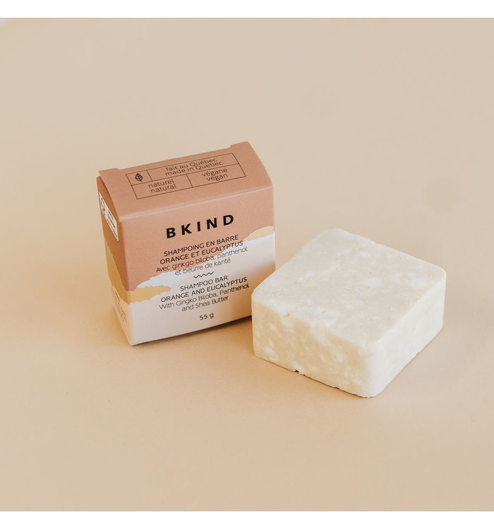 Bkind PRE-PACKED SHAMPOO BAR BKIND
