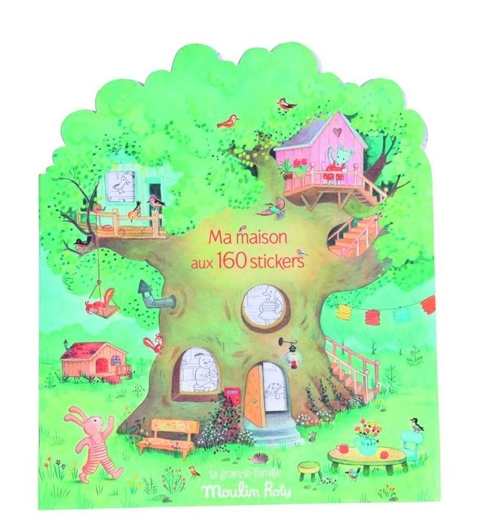 Moulin Roty STICKER STORY BOOK MOULIN ROTY
