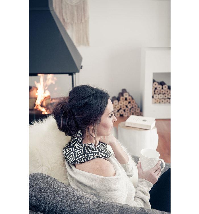 Amma Therapie Coussin chauffant pour épaules Ammatherapie