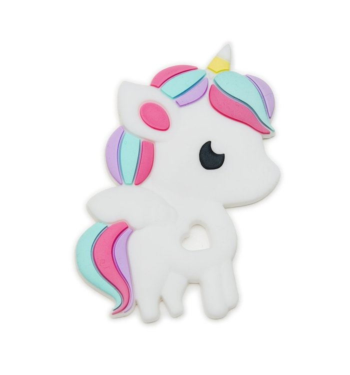 Loulou Lollipop LOULOU LOLLIPOP SILICONE TEETHER-UNICORN