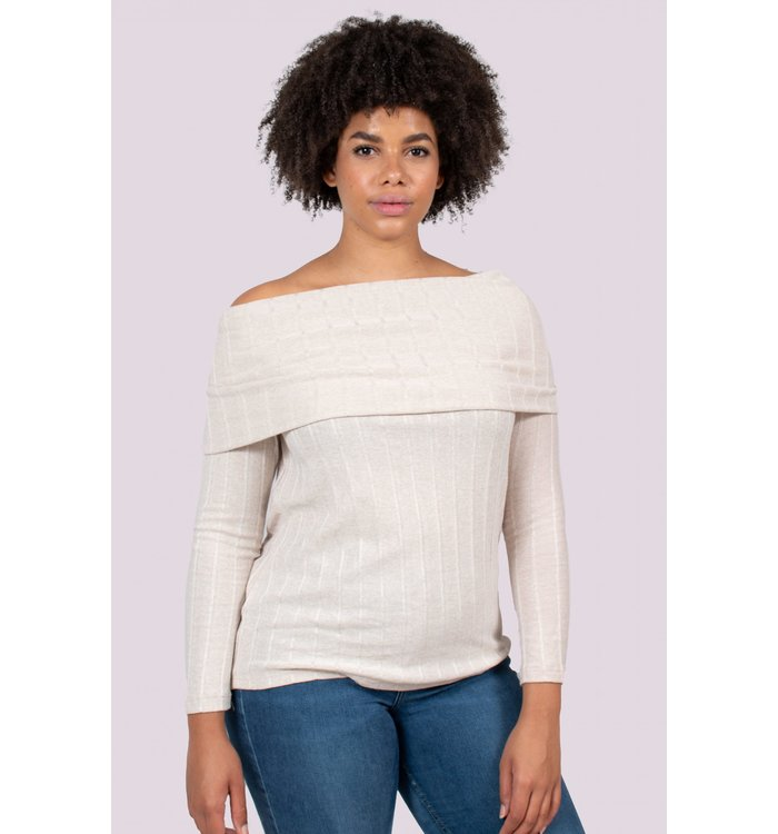 Lait de Poule Lait de Poule Nursing knit sweater