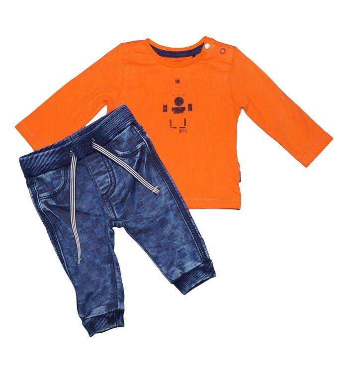 Noppies Noppies Boy's Sweater+Jeans