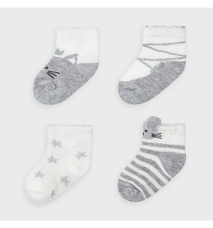 Mayoral Chaussettes (4 paires) Fille Mayoral