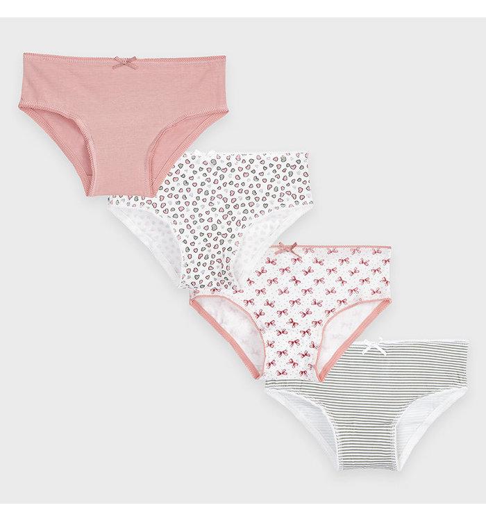 Mayoral Mayoral Girl's Set of 4 Panties