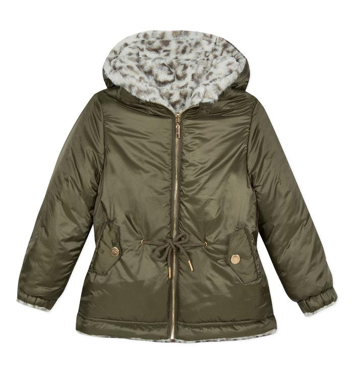 Lili Gaufrette Lili Gaufrette Girl's Reversible Coat