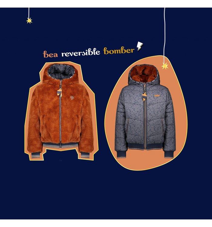NONO Girl's Reversible Coat