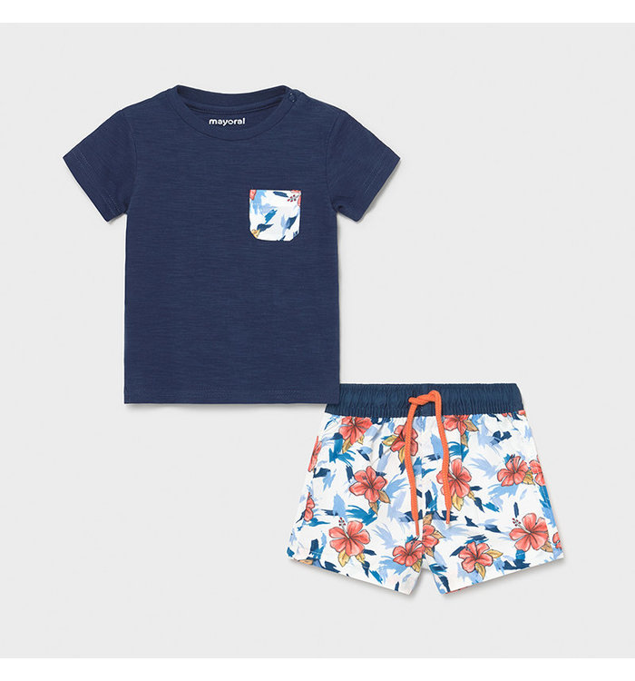 Mayoral Mayoral Boy's 2 Piece Swimsuit Set