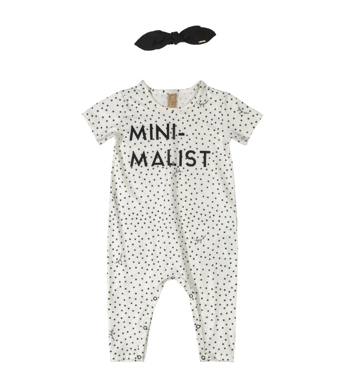 Up baby Upbaby Girls Jumpsuit with headband