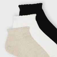 Mayoral Girl's 3 Socks Paires Set