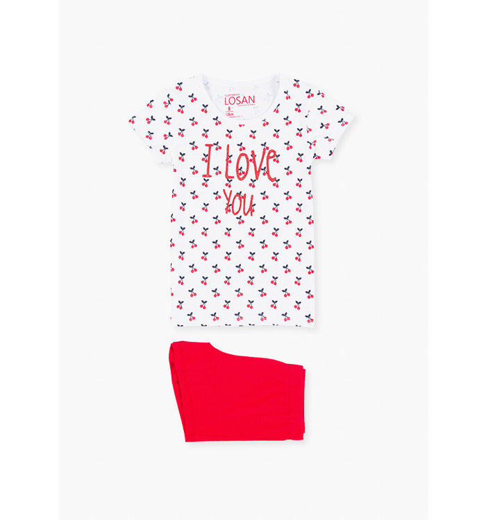 Losan Girl's 2 Pieces Pyjama