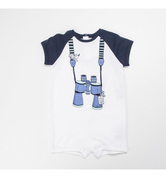 Little Marc Jacobs Little Mjc Boy Short Jumpsuit
