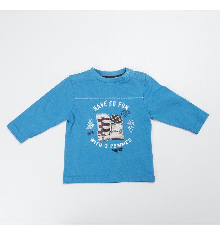 3 Pommes Boy Long Sleeved Shirt