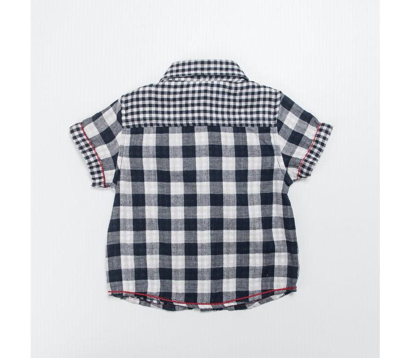 3 Pommes Boy buttoned shirt