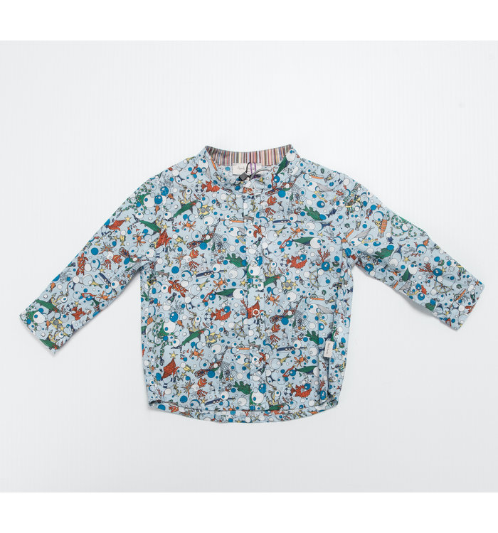 Paul Smith Paul Smith Boy Long Sleeved Buttoned Shirt