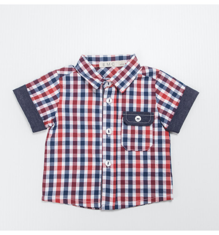 EMC Emc Boy Short Sleeved Buttoned Shirt