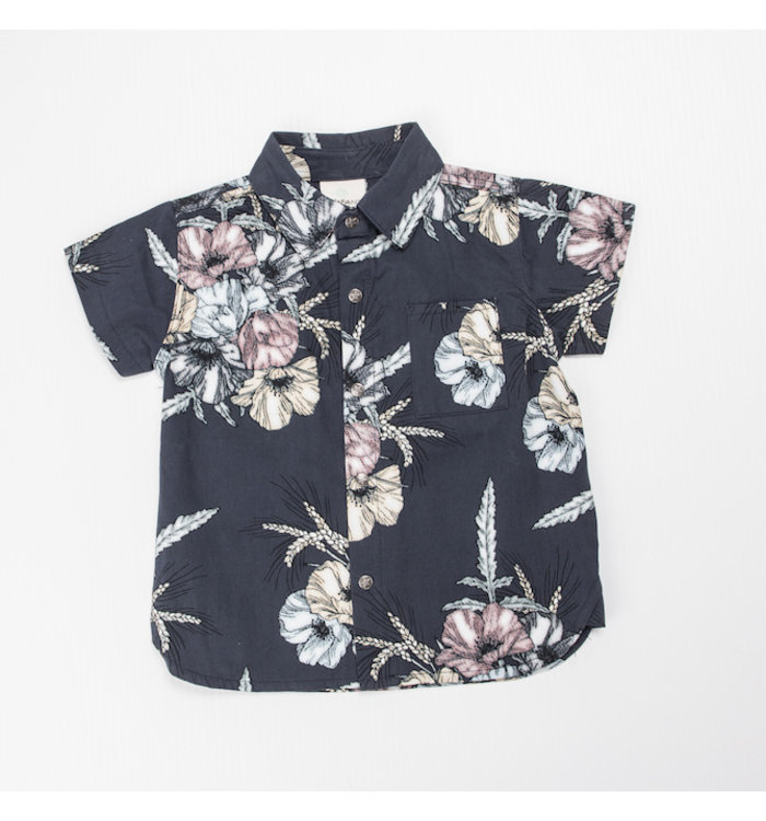 En-Fant Enfant Boy Short Sleeved Blouse