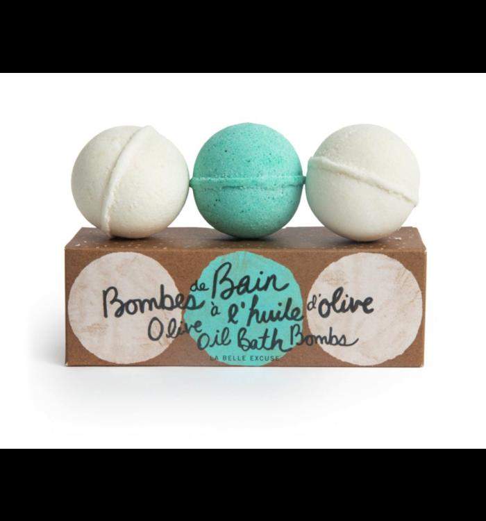 Lolo Lolo et Moi Olive Oil Bath Bombs