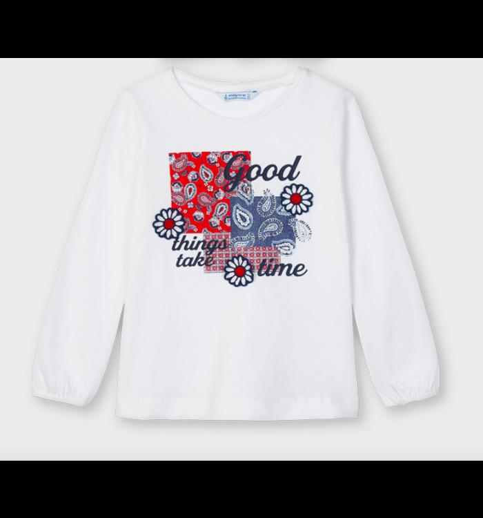 Mayoral Mayoral Girl's Long Sleeve Shirt