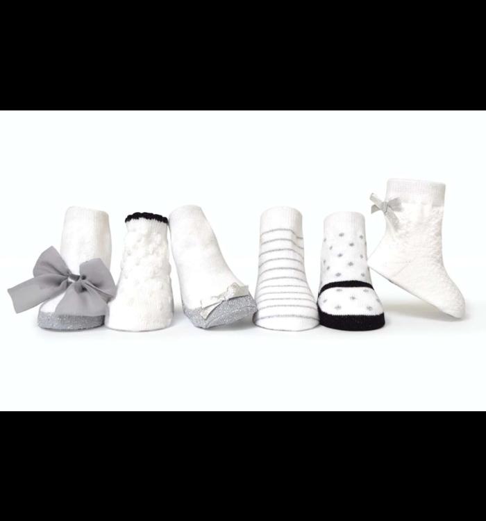 Trumpette Trumpette Ava's Girl's Socks 6-Pack