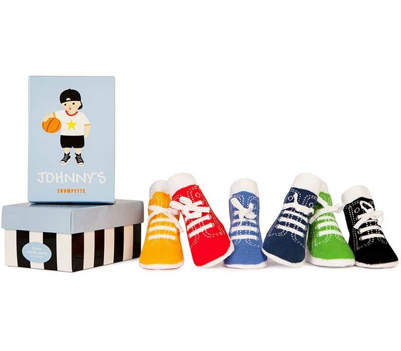 Trumpette Boy's Rad Johnny Socks 6-Pack