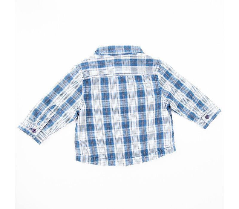 3 Pommes Boy's Long Sleeved Blouse