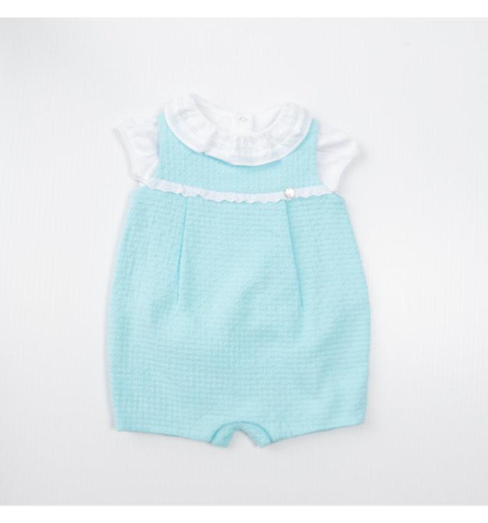 Pureté du Bébé Pureté Girl's Short Jumpsuit