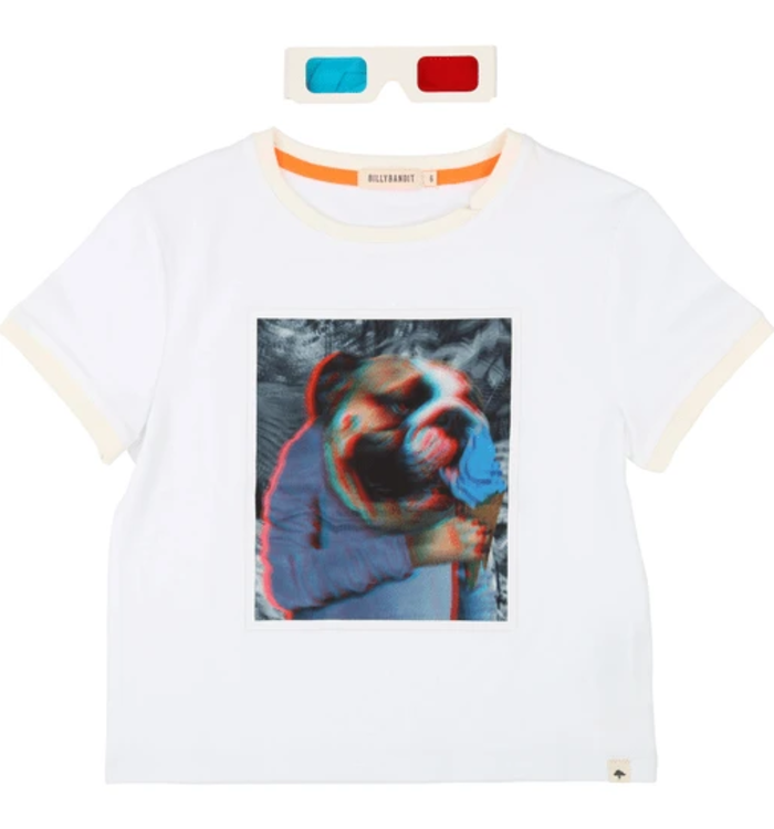 Billybandit BillyBandit Boy's T-Shirt with 3D Glasses
