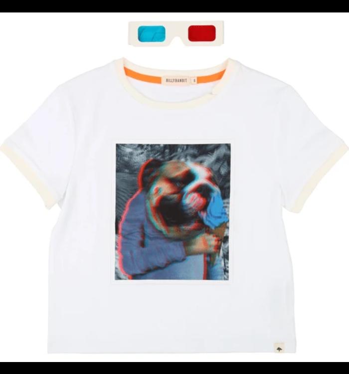 Billybandit T-Shirt avec Lunettes 3D Garçon BillyBandit