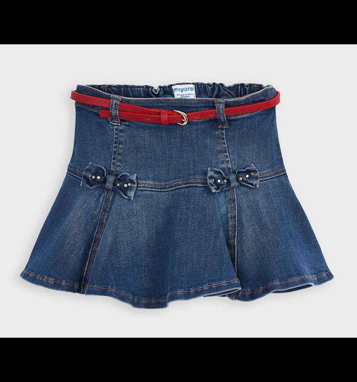 Mayoral Mayoral Girl's Skirt & Belt