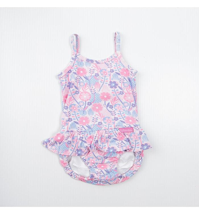 Jojo Maman Girl's Bathing Suit