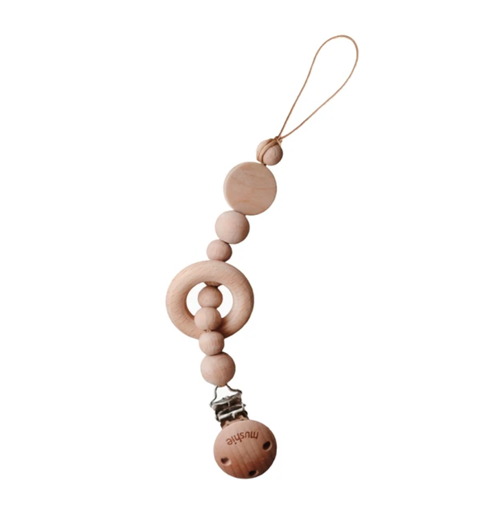 MUSHIE MUSHIE PACIFIER RATTLE  CLIP