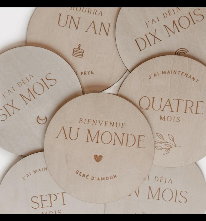 Le Petit Tableau Noir PASTILLE DE BOIS GROSSESSE & 0-1 ANS, LE PETIT TABLEAU NOIR