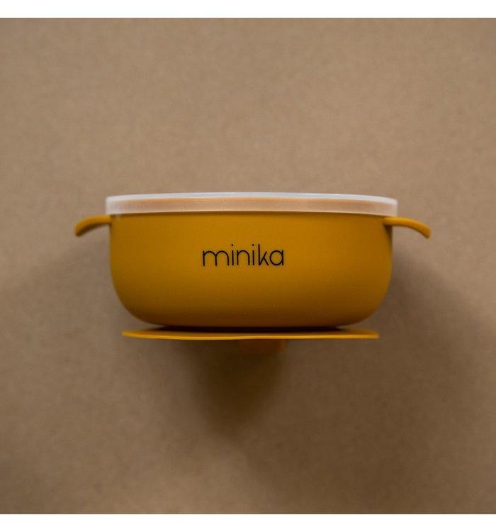 Minika OCRE MINIKA BOWL WITH LID