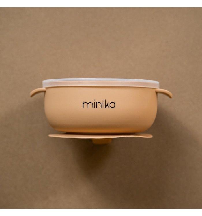 Minika NATURAL MINIKA BOWL WITH LID
