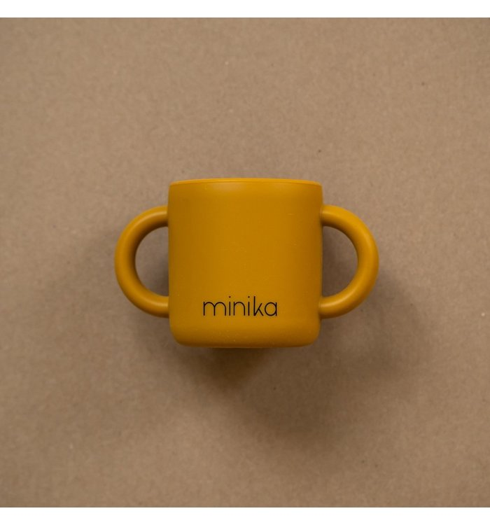 Minika MINIKA OCRE LEARNING CUP WITH HANDLE