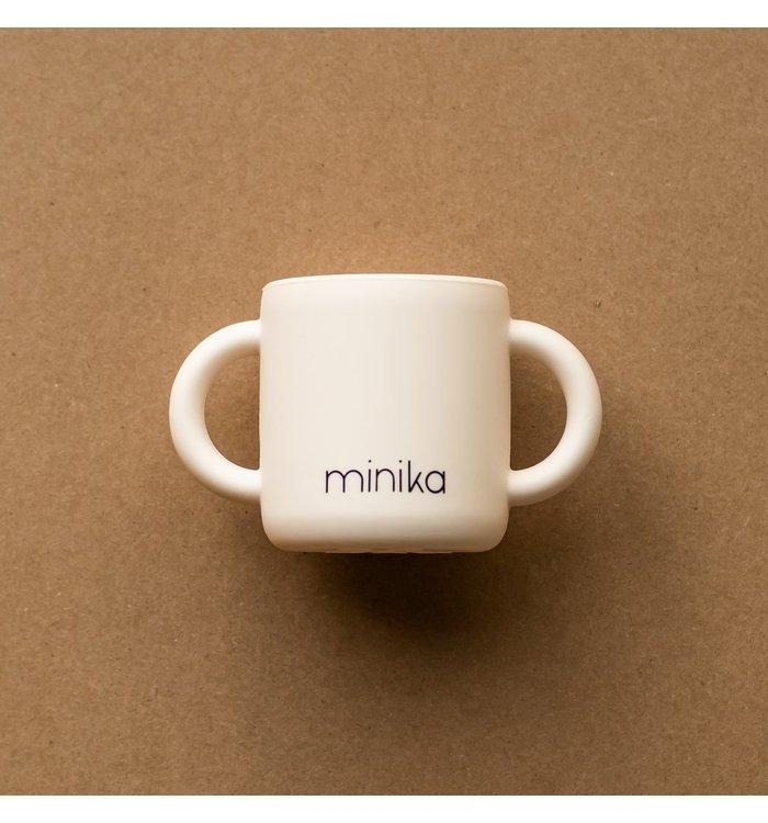 Minika MINIKA SHELL LEARNING CUP WITH HANDLE