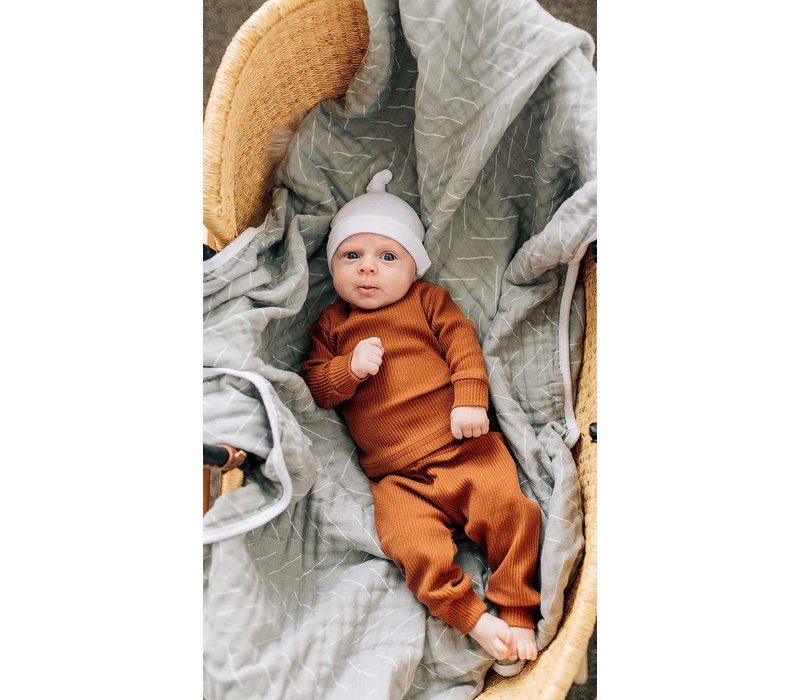 MEBIE BABY KNOTTED HAT