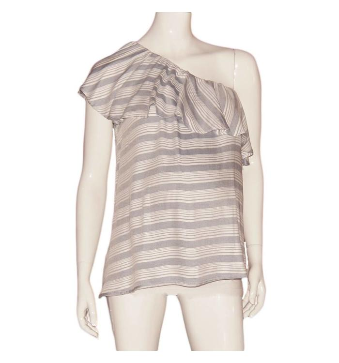 Gebe Gebe striped blouse, CR