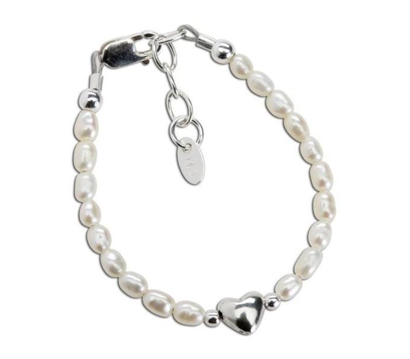 Cherished Moments Pearl Bracelet