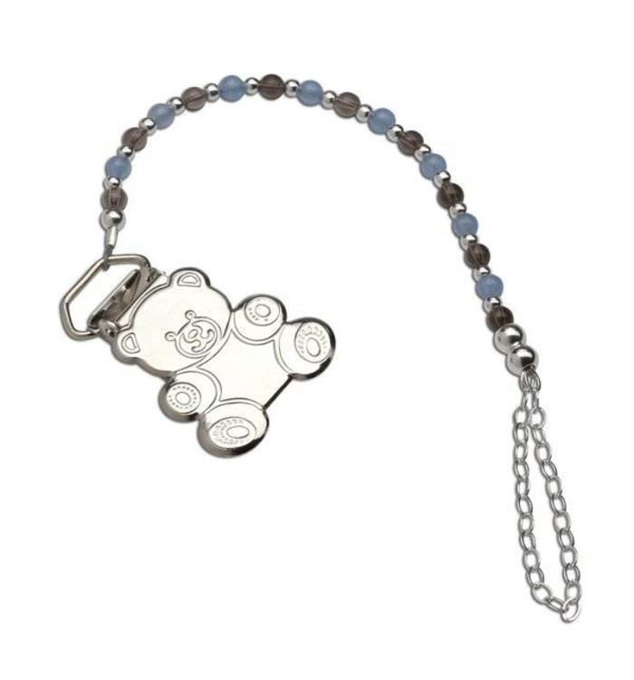 Cherished Moments Cherished Moments Bear Pacifier Clip