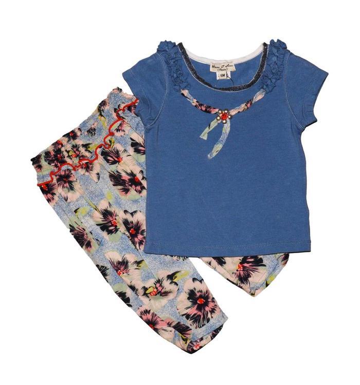 Eliane & Lena T-shirt&Pants Set