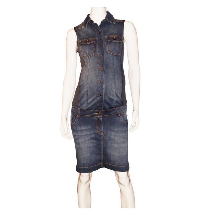 L2W L2W  Maternity Jean Dress, CR
