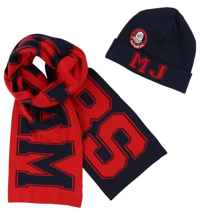 Little Marc Jacobs Boy's Hat & Scarf, AH