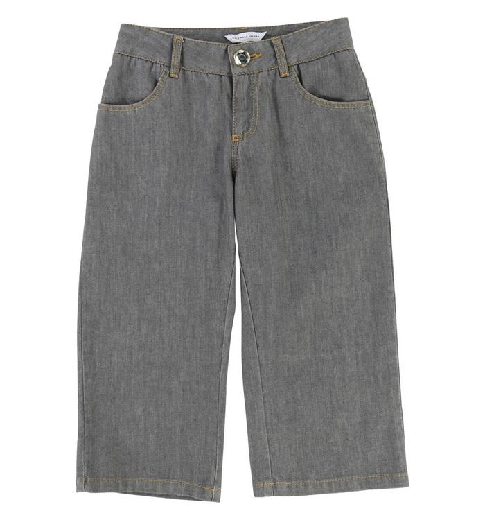 Little Marc Jacobs Girl's Cropped Jeans, AH