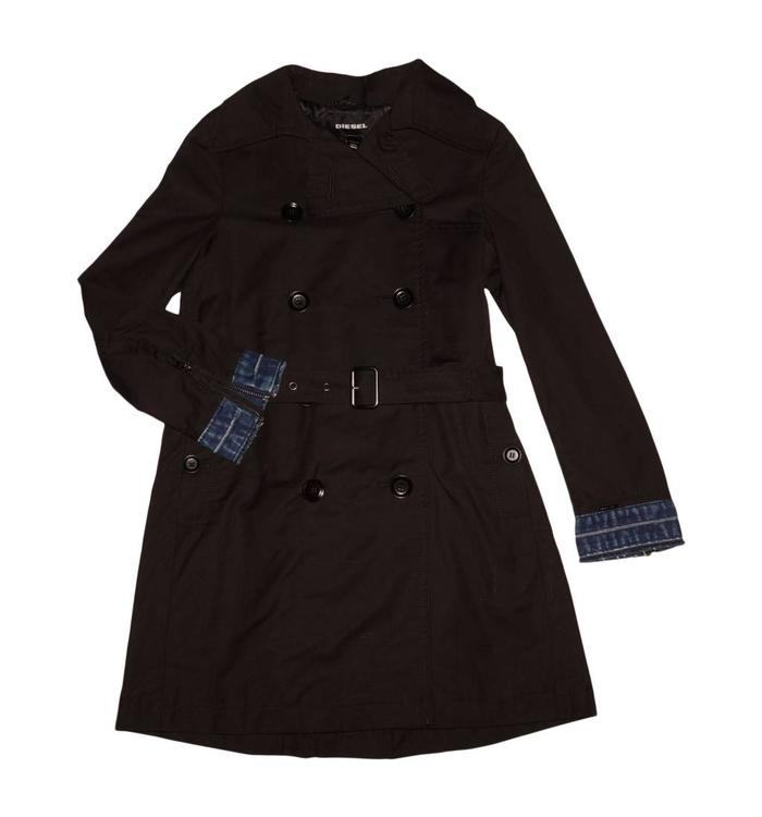Diesel Diesel Girl's Trench Coat, AH